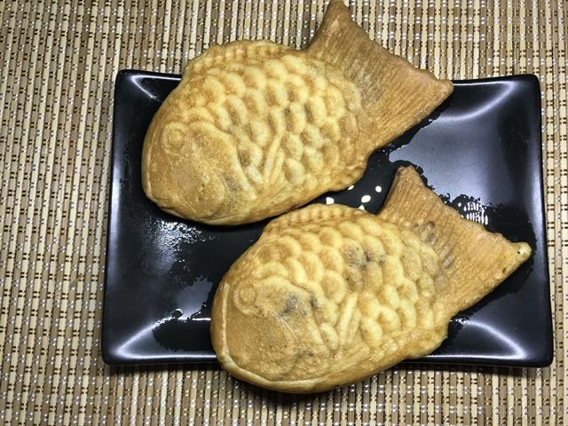 セブンプレミアム:北海道産小豆たいやき 電子レンジでチンしたあと
