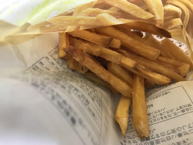 セブンプレミアム:九州産さつまいもを使用した薩摩芋けんぴの袋を開けたところ