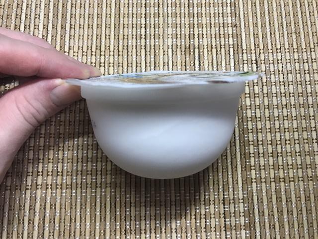 セブンプレミアム:ナタデココヨーグルトデザート 側面