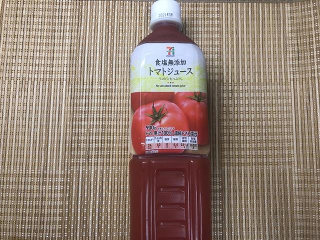 セブンプレミアム:食塩無添加トマトジュース 表面